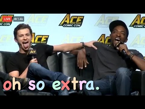 The Marvel Cast Being Extra Af For 3 Minutes Straight