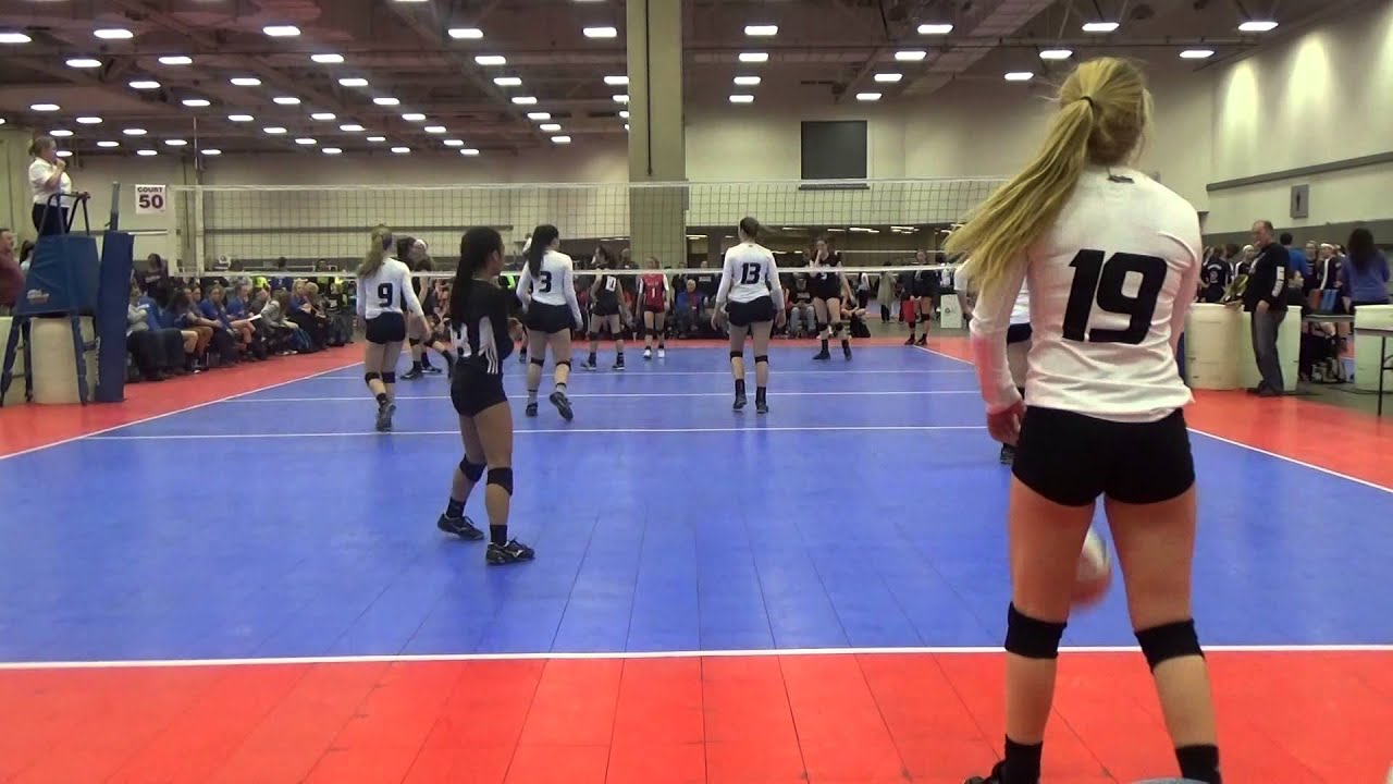 Skyline Juniors Volleyball 16 Molten Royal Vs Waco Game 1 Set 15 Setter