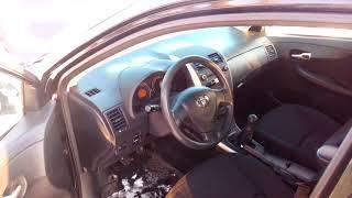видео Основные характеристики Toyota corolla 2006-2013