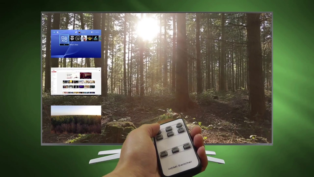 J-Tech DIgital 4K x 2K 4-Port HDMI Switch