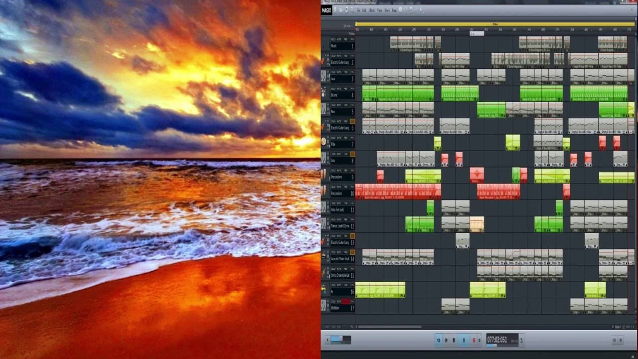O-Zone - Dragostea Din Tei (DJ Zumbi Deep House Remix) - Magix Music Maker Premium