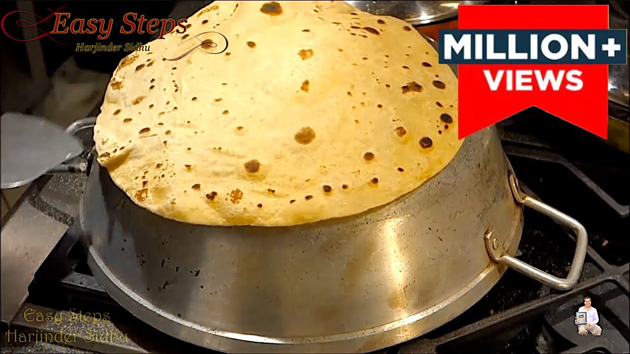 How to make Roomali bread at home