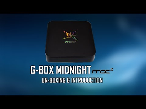 G-Box Midnight MX2 - Unboxing And Introductions