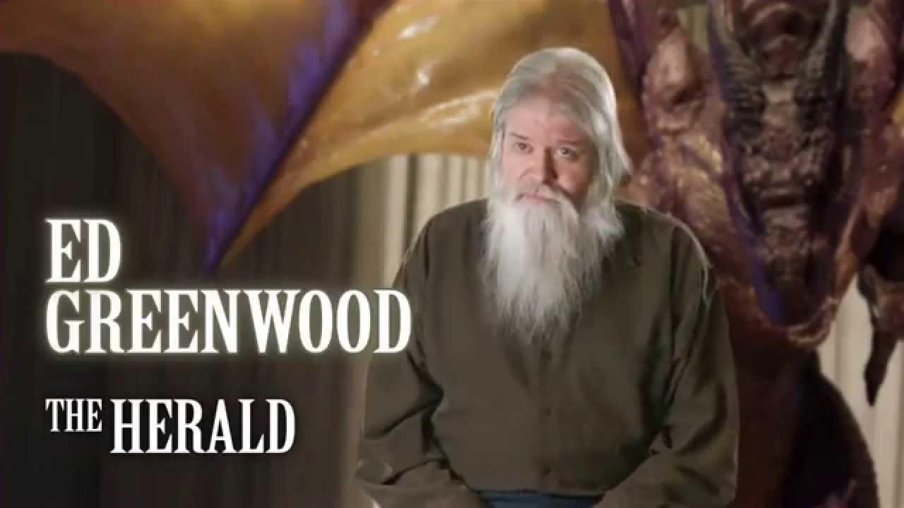 Ed Greenwood The Sundering Author Interview Ed Greenwood YouTube