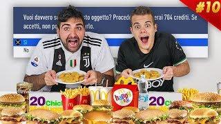 🍔 FIFA FOOD DISCARD CHALLENGE vs TATINO!!! Ho dovuto scartare... | FIFA MONOPOLY #10