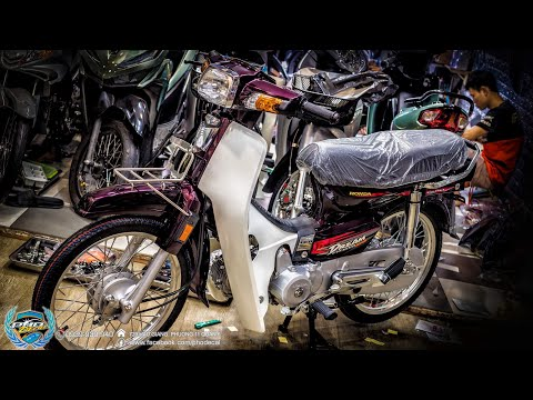 Pho Decal | Honda Dream | Restoration for TET Holiday, a Gift for Dad