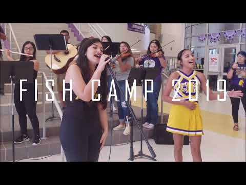Mariachi Carrizeno at Fish Camp 2019, Carrizo Springs High School