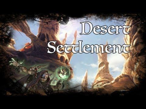 D&D Ambience - Desert Settlement
