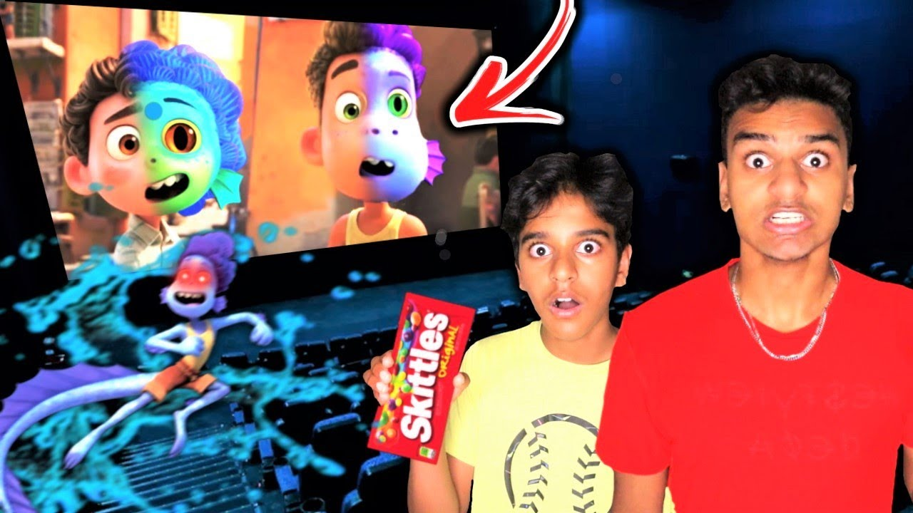 Do Not Watch CURSED LUCA SEA MONSTER MOVIE At 3AM!! *ALBERTO SEA MONSTER BROKE INTO MY HOUSE*