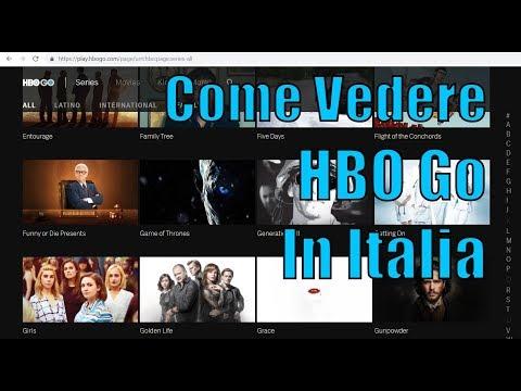 HBO GO | Come registrarsi a HBO USA e vedere film e serie
