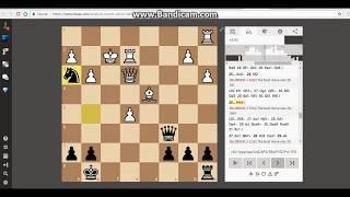 Turning a chess game around