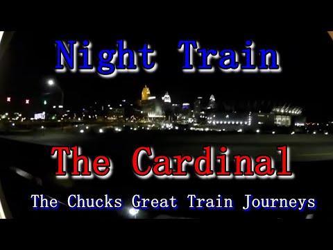 Night Train: Amtrak's Cardinal 2017 [Huntington-Cincinnati-Chicago], Westbound Train 51