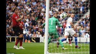 Terrible Brighton 3-2 Manchester United GOALS Murray duffy lukaku pogba