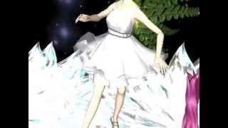 クリスタル・フラワーの妖精たち(Fairyies of the crystal flowers)