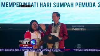 Ribuan Murid Tagih Sepeda ke Presiden Jokowi - NET10