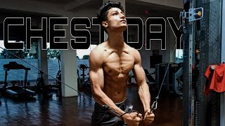 My 4 SHREDDED CHEST WORKOUT In GYM 🔥 SURYAKANT SINGH
