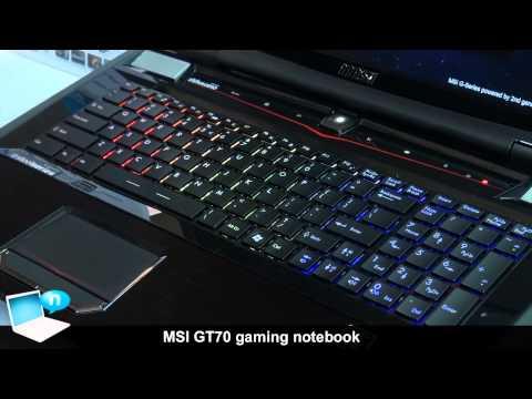 MSI GT70 gaming notebook