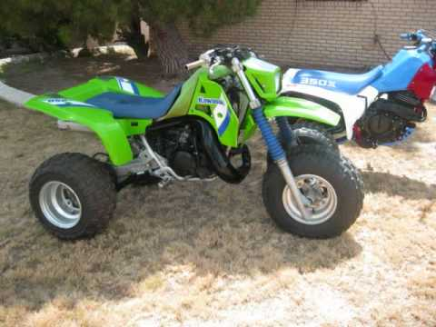 KAWASAKI 3 WHEELER RIDE TECATE - YouTube