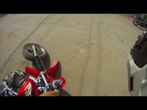 Honda XR400 Supermoto / Problems in Kathmandu / Nepal