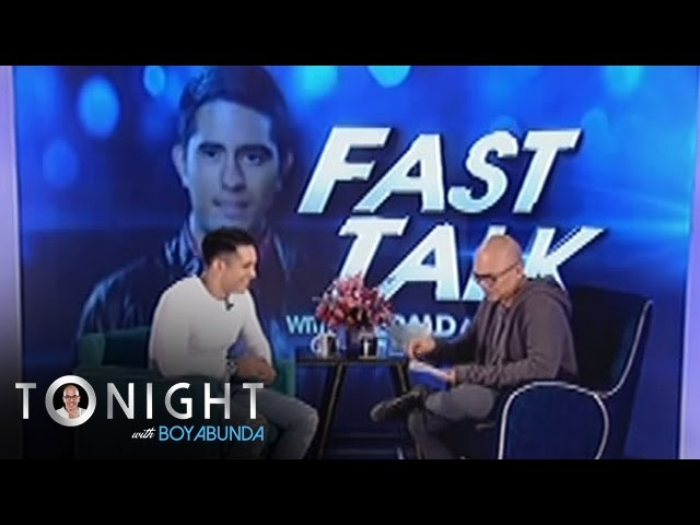 TWBA: Fast Talk with Gerald Anderson