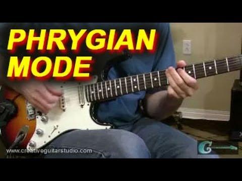 GUITAR THEORY: Phrygian Mode - Part 1 - Harmony Analysis