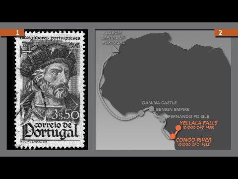 VÉRITÉ RÉVÉLÉE P-16: LES GRANDES INVASIONS PORTUGAISE A PARTIR DU GOLFE DE GUINÉE