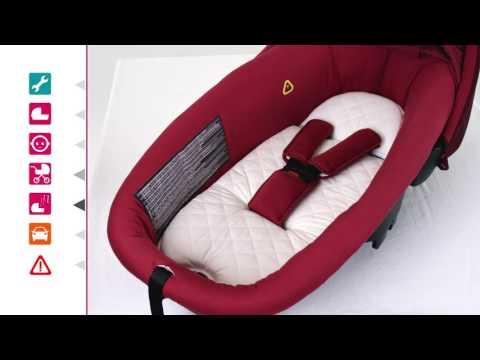 Nacelle Amber De Bébé Confort - Utilisation