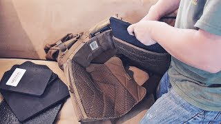How to Install Armor Plates into Plate Carrier