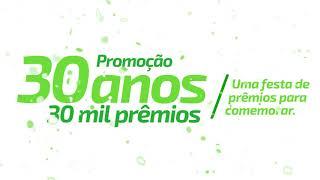 SICREDI OURO VERDE MT - Promoção 30 anos