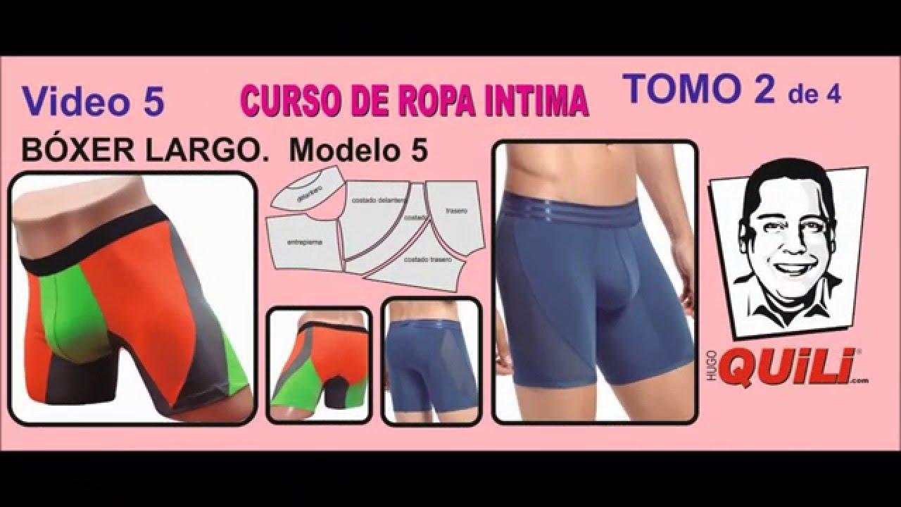 BOXER 5 TOMO 2 Curso de ropa intima - YouTube