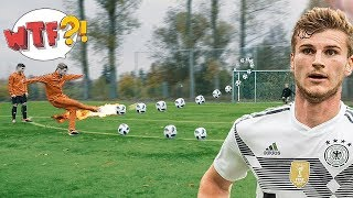 freekickerz vs Timo Werner - Ultimate Football Challenges
