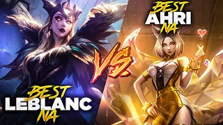 Testing my Leblanc against Rank 1 Ahri! Best Ahri NA vs. Best Leblanc NA