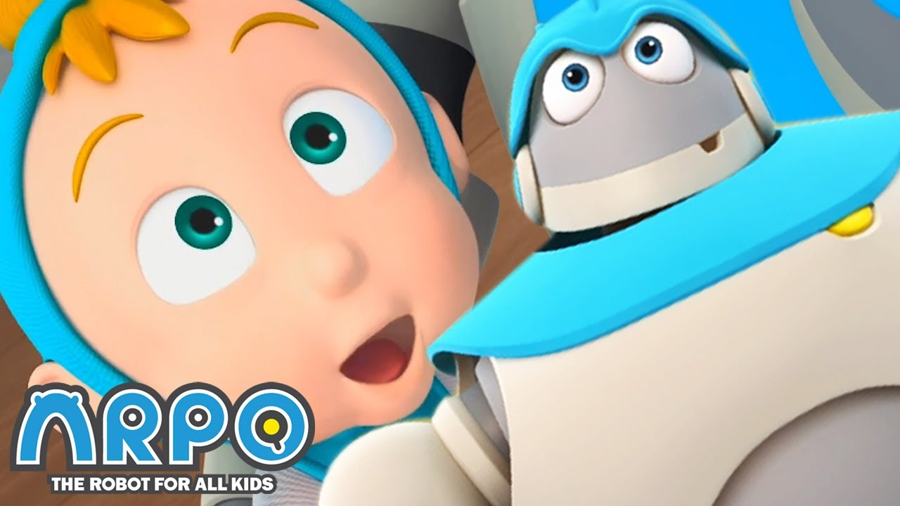 Arpo the Robot | Protect the Baby | Best Moments | Funny Cartoons for Kids | Arpo and Daniel