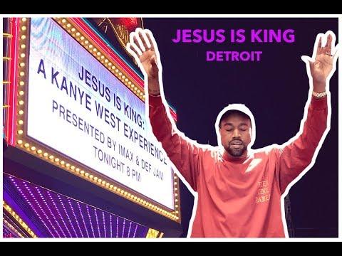 Kanye West Jesus Is King In Detroit | What Happen | Album Listening Party