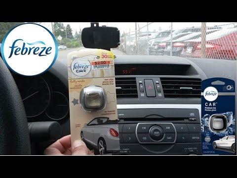 Febreze Car Vent Clips Air Freshener (Fluffy Vanilla) Review