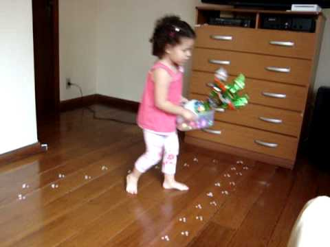 Pegadas Do Coelhinho Pascoa 2009 Youtube