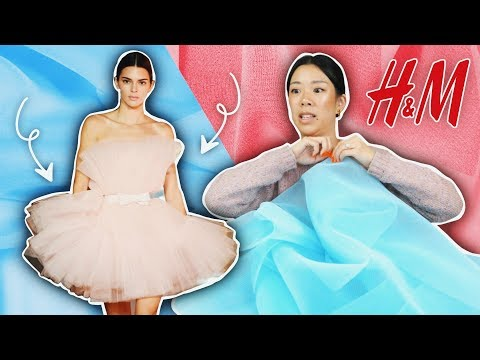 I sewed THAT tulle dress (H&M x Giambattista Valli) | WITHWENDY