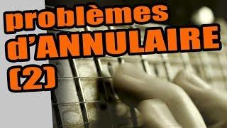 GUITARE ET PROBLÈMES D'ANNULAIRE #2
