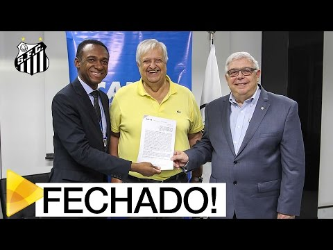 PATROCÍNIO MASTER: Santos firma acordo com a Caixa