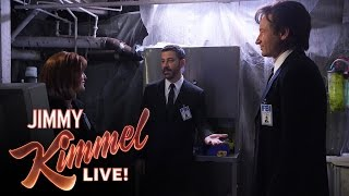 Mulder, Scully and Jimmy Kimmel in The X-Files thumbnail