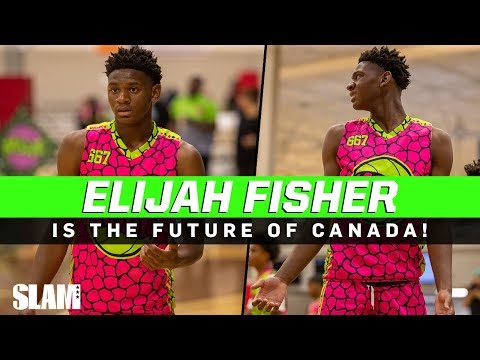 Elijah Fisher Is The FUTURE Of Canada! Freshman PHENOM From Toronto 🇨🇦