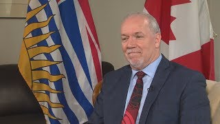 John Horgan: on political scandal, no ride-hailing and ICBC rate increases