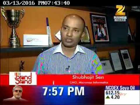 Zee Brandstand- Shubhajeet Sen, Chief Marketing Officer, Micromax Informatics