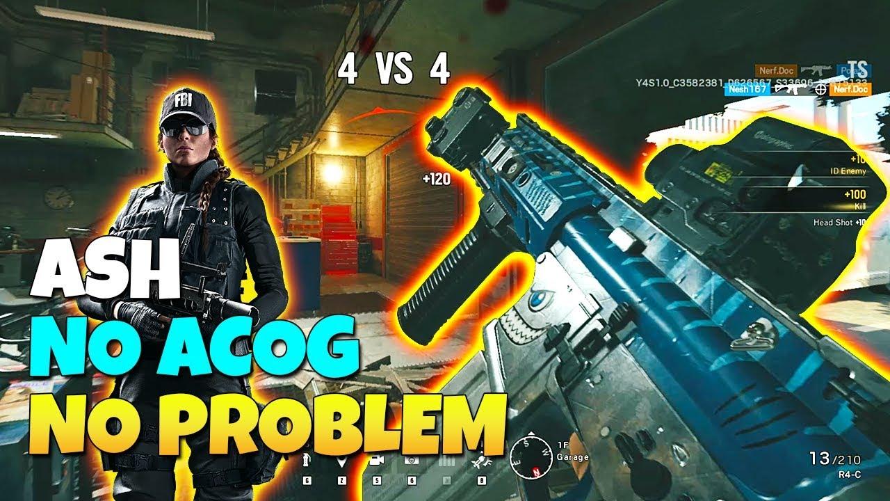 No ACOG Ash? No Problem - TTS - Operation Burnt Horizon | Rainbow Six Siege
