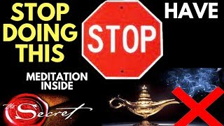 STOP Wanting and START Having : Law of Attraction Secret