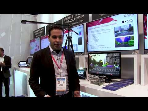 Cadence Tensilica Demonstration of ADAS Applications on an AI Perception Processor