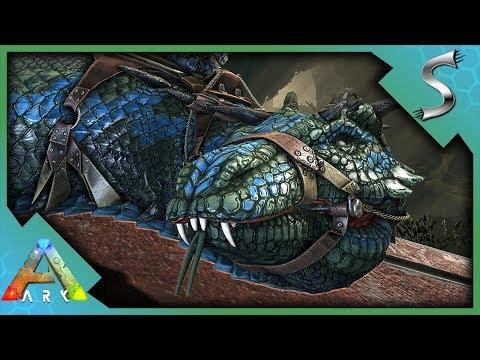 MAX LEVEL BASILISK TAMING WITH ROCK DRAKE EGGS! - Ark: Survival Evolved [S4E108]