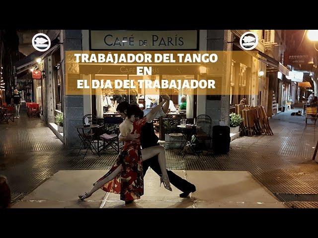 El trabajador del tango en el Dia del trabajador #airesdemilonga