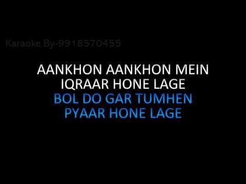 Jab Kisiki Taraf Dil Jhukne Lage Karaoke Pyaar To Hona Hi Tha
