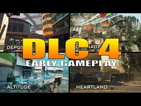 DLC 4 Retribution Early Multiplayer Gameplay (Altitude, Depot 22, Heartland, Carnage)